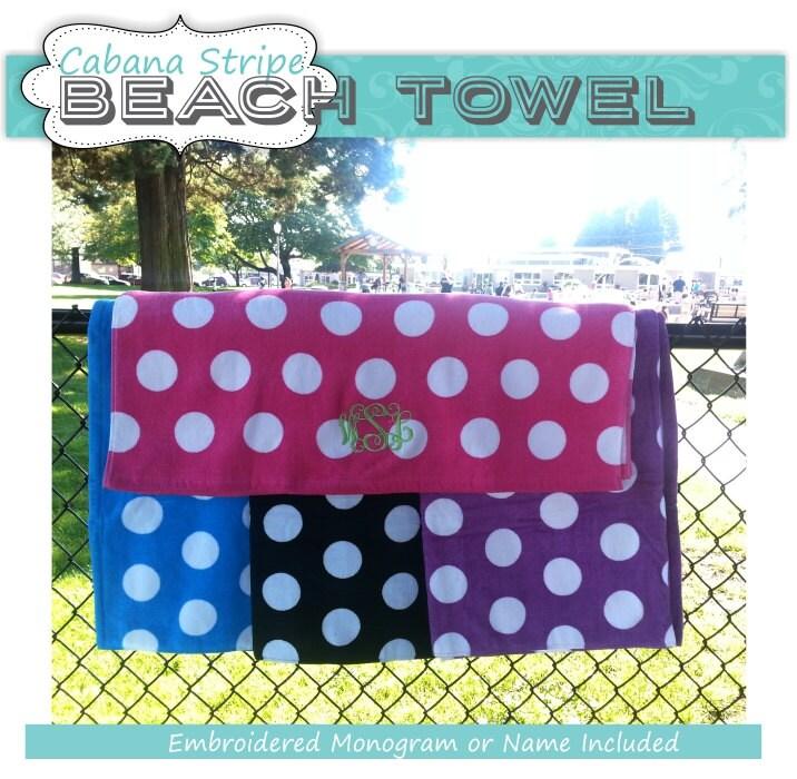 Polka Dot Beach Towel Polka Dot Towel Beach Towel