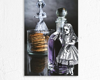 Drink Me Alice in Wonderland Still Life Photography