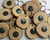 Hazel Compass Key Rings, wooden keyrings, wood key ring, keyring, keyrings, compass, hazel key rings, cool gifts, fathers day, for men