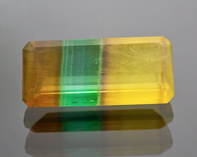 SALE EVENT! Large Unique Argentinian Banded Fluorite Gemstone 22.24 cts.