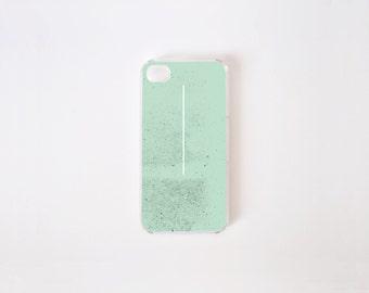 iPhone 4/4s Case - Menta Zen iPhone Case - iPhone 4 s case - iPhone 4 case - Hard Plastic or Rubber