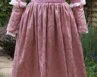 Custom Italian Renaissance, Juliet Dress, Lucrezia Borgia, Period Costume for Historical Reenactment