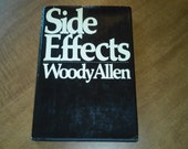 "Vintage First Edition 80s Hardcover, ""Side Effects"" Written by Woody Allen, 1980."