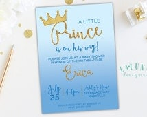 invitation little prince baby shower prince invitation prince theme