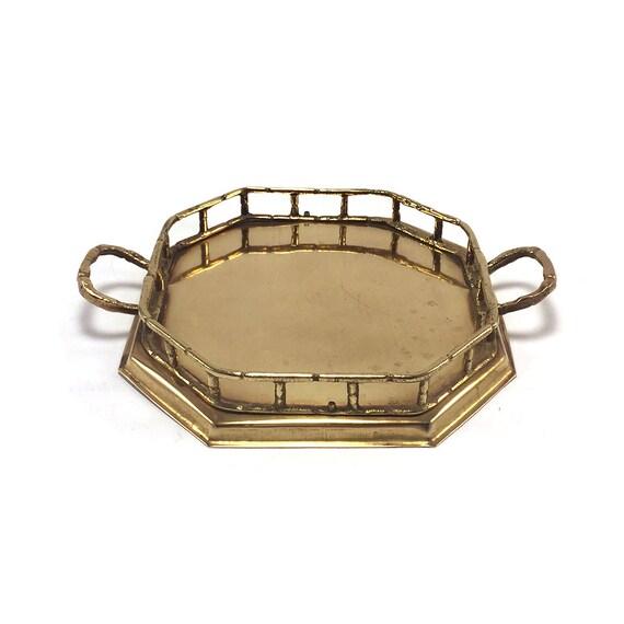 Vintage Brass Tray 15