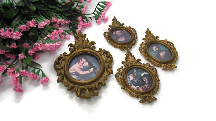 Glasses Frame Hong Kong : Set of 4 Vintage Cameo Frames Hong Kong