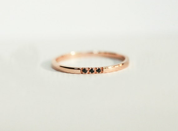 gold band dainty wedding ring gold by