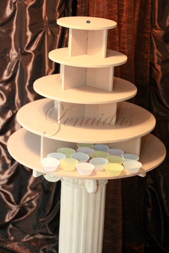 Cupcake Stand Large Round 150 Cupcakes Threaded Rod And