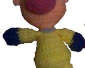 Louie Crochet Amigurumi Pattern - DIGITAL DOWNLOAD