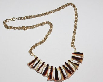 Reversible Shell Necklace - MB170-S