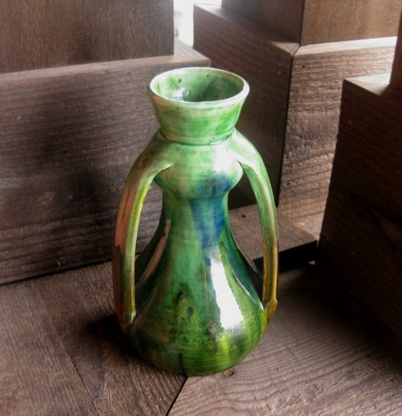 Art pottery vase from belgium art deco by riverhouseartpottery - Deco vintage belgique ...
