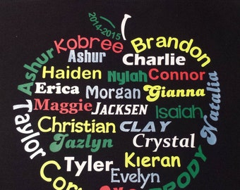 Personalized Tote Bags for Teachers or Student Teachers