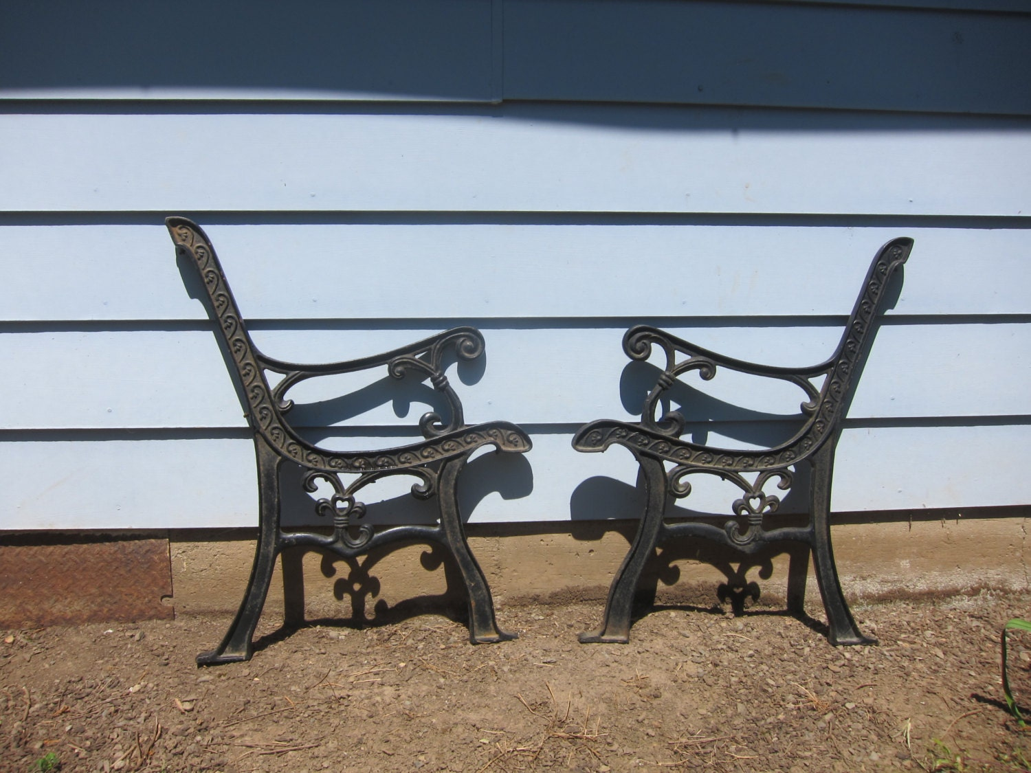Cast Iron Bench Source China Supplier Furniture Outdoor