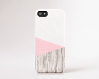 Pink iPhone 6 Case Wood Print Pink iPhone 5 Case Light Pink iPhone 5 Case Chevron iPhone Case Galaxy S5 Case Chevron Wood Print Pastel Pink