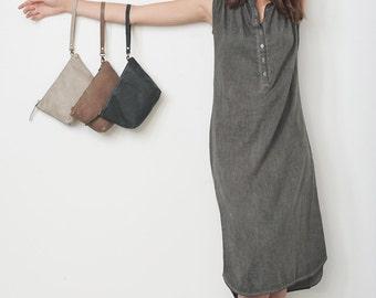 Leather Clutch Bag, Wedding Clutch, Bridesmaid Clutch, Evening Clutch, Small Leather Bag