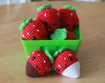 Strawberry (regular) - Keychain