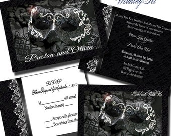 Masquerade wedding | Etsy