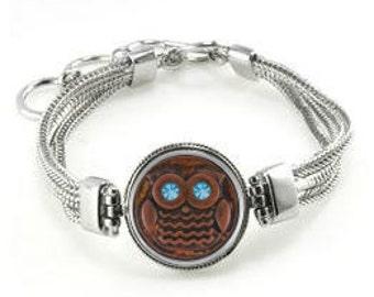 Owl Bracelet - Bracelet With Owl - Owl Jewelry - Owls
