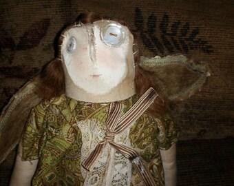"""Handmade Vintage Angel Doll 11 1/2"""""""