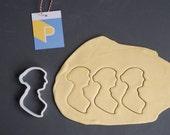 Jane Austen cookie cutter...