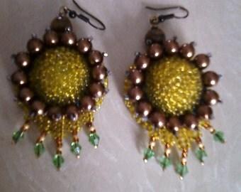 """Earrings """"Medusa""""55"""