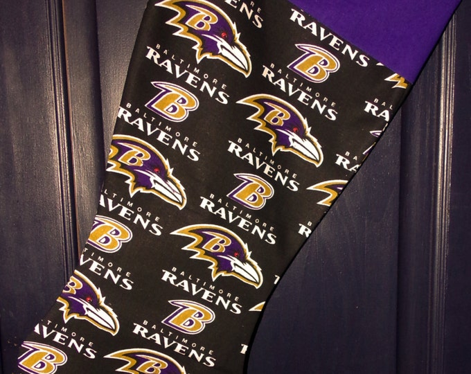 Ravens Christmas Stocking