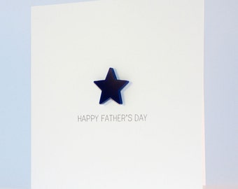 Happy Fathers Day with detachable magnet keepsake