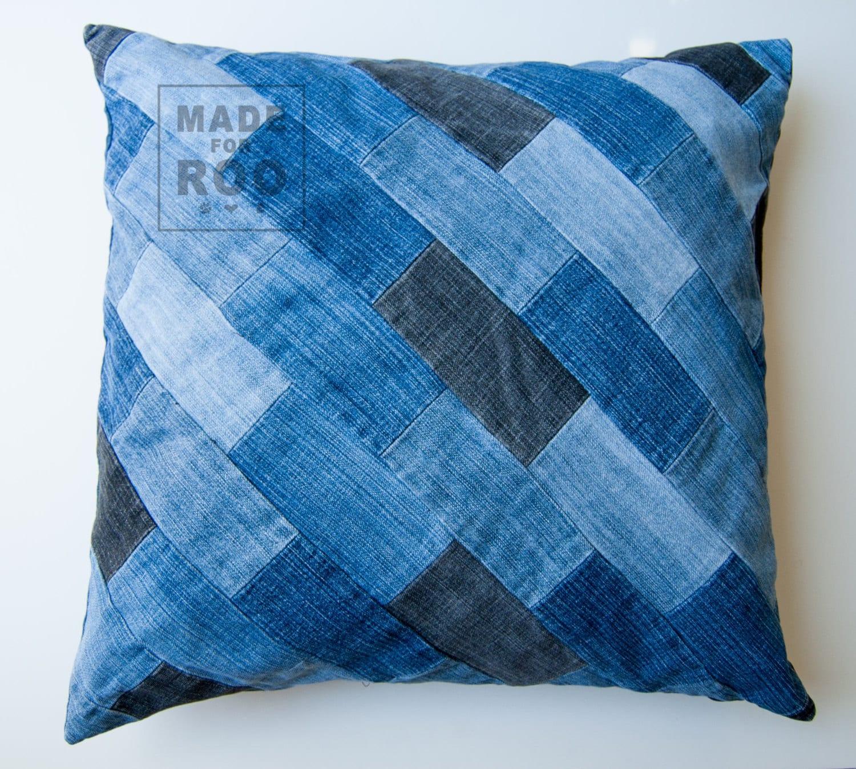 How To Make A Patchwork Throw Pillow : Berkeley Pillowcase-Decorative Pillows-Throw Pillow