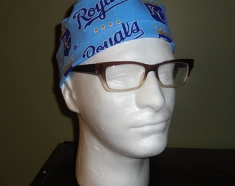 Men's Kansas City Royals Surgical Scrub Hat