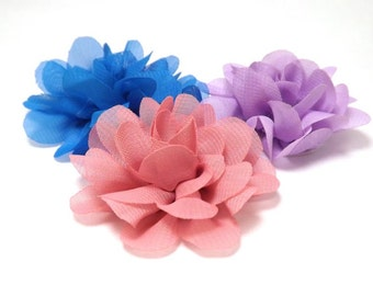 New Colours! Mini Mums - Cat or Small Dog Collar Flower | Small Flower 20 Colours Collar Attachment