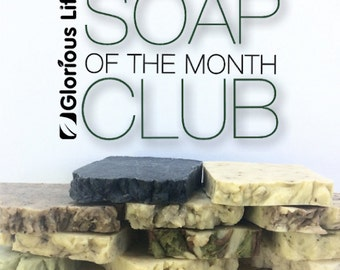 12 Month Subscription - Glorious Life Soap of the Month Club - Gift Subscription