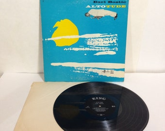 Earl Bostic ALTOTUDE Vintage Vinyl Record Album 1960 King Records 515 33 1/2 Long Play