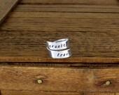Cruelty Free - Vegan - Aluminum Wrap Ring
