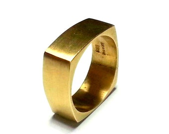 Unique Wedding Ring Promise Ring Wedding Ring set Gold Ring Gold Band Fine Jewelry Gold Matte Finish Gioielli Unusual Friendship
