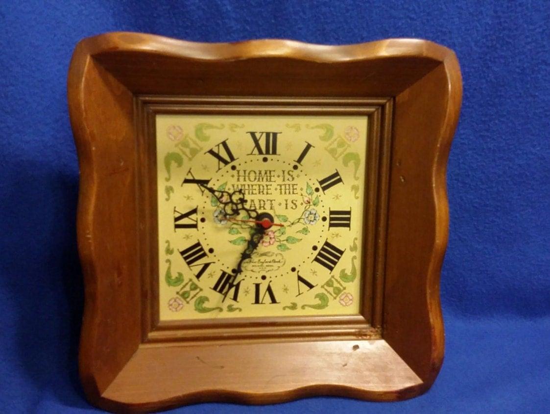 New England Clock Co Clock