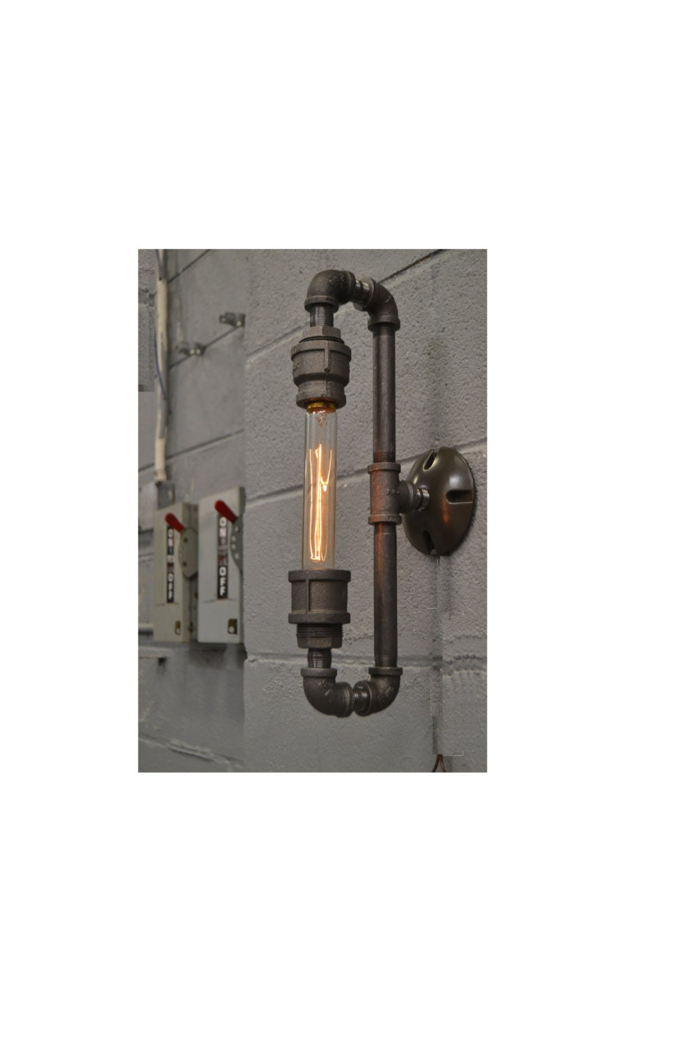 Steampunk Sconce Wall Sconce Wall Light Industrial