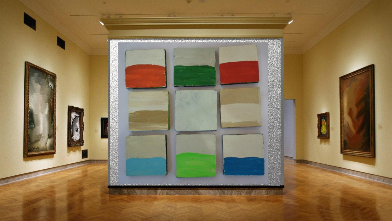 Peinture Minimaliste Contemporain Art M Langer Et Par