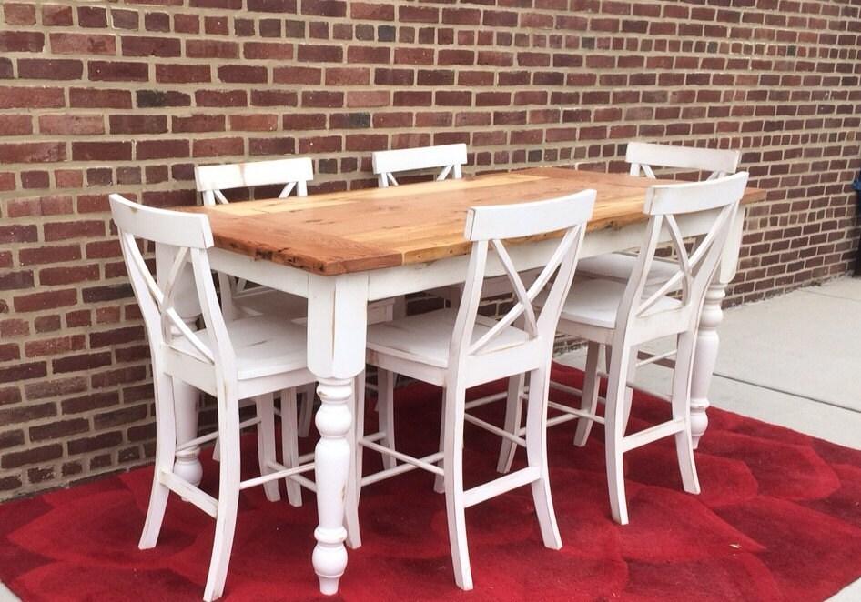 Counter Height Table Farmhouse Table Island Table