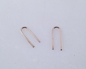 BACK IN STOCK Medium Arc Earrings
