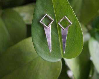 Espina Earrings | Sterling Silver Spike Earrings