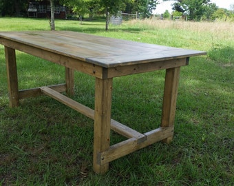 6' Farm Table