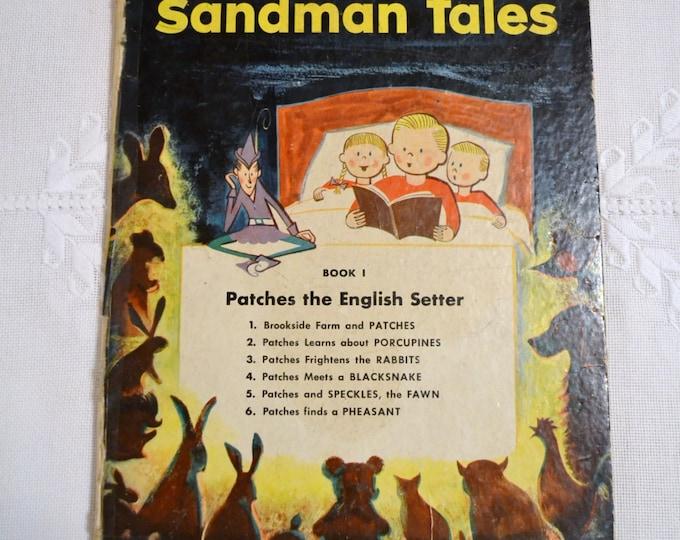 Sandman Tales Book 1 1954 Vintage Childrens Book PanchosPorch