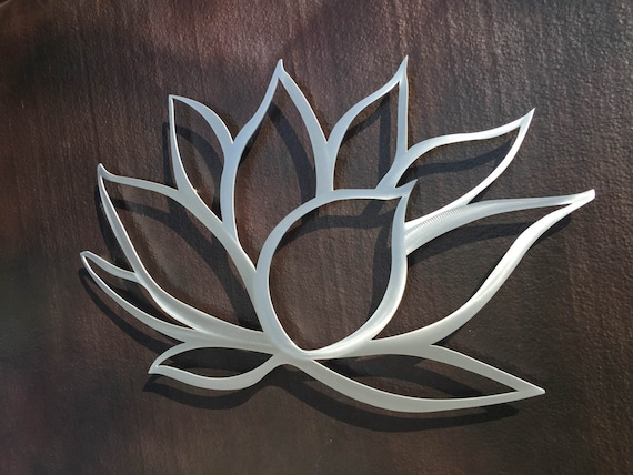 Lotus Flower Metal Wall Art Lotus Metal Art Home Decor Metal Art