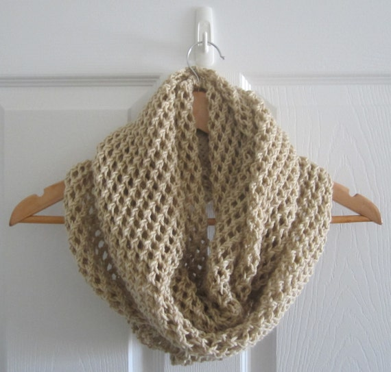 Open Knit Scarf Pattern : Wide Open Knit Scarf Extra Large Hand Knit by itsCOWLdoutside