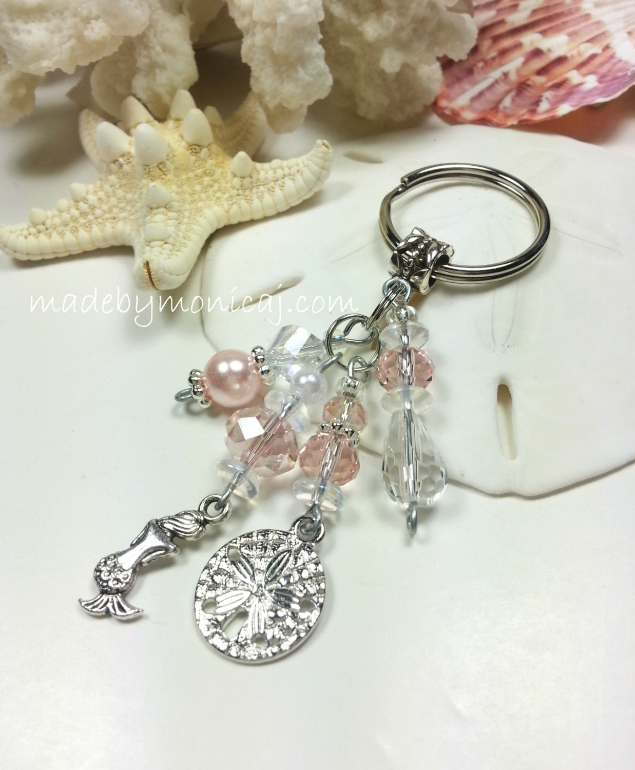 Girly Keychains Cute Girly Keychain With Beach