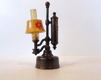 Vintage Novelty pencil sharpener- Lamp; Die Cast  /MEMsArtShop.