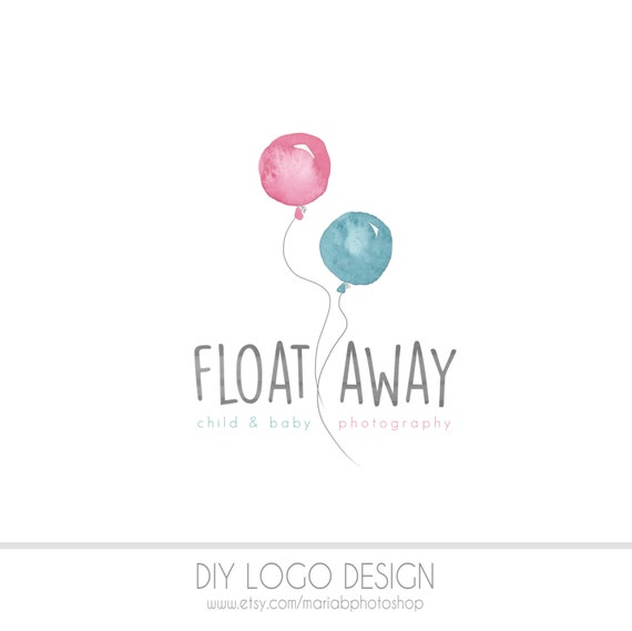 Clearance Watercolor Diy Business Logo Pastel Photography