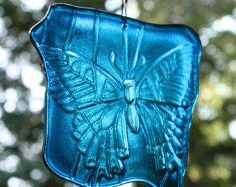 Happy Blue Butterfly