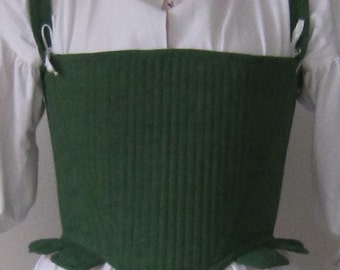 Custom made Tudor/Elizabethan Corset to your measurements and specifications