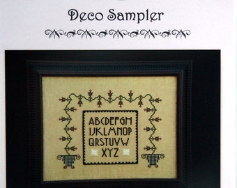 Deco Sampler By Lilybet Designs Cross Stitch Pattern Packet 2003
